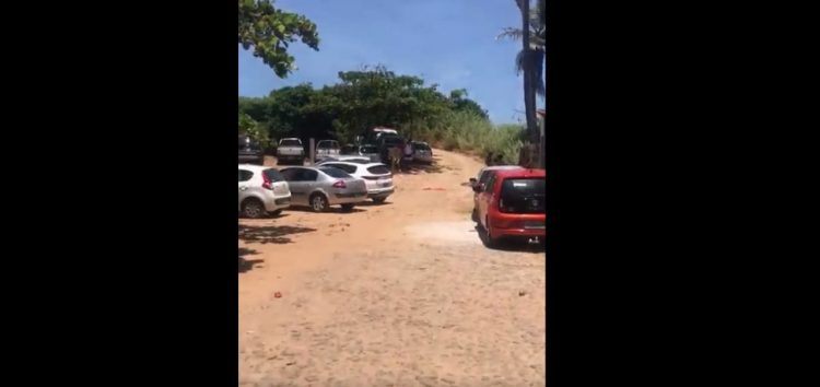 Guarapari: Vídeo denuncia estacionamento irregular no Pontal de Guaibura