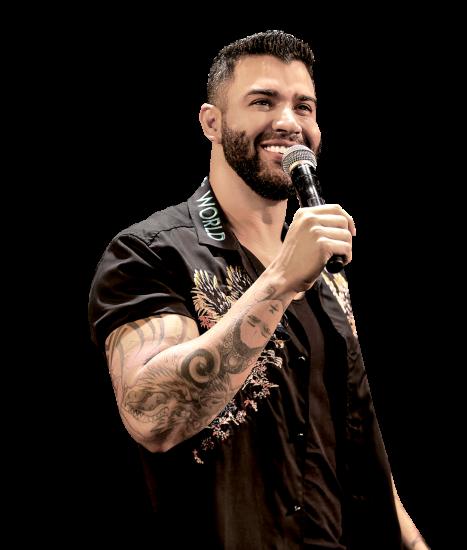 Gusttavo Lima apresenta canções inéditas em Guarapari