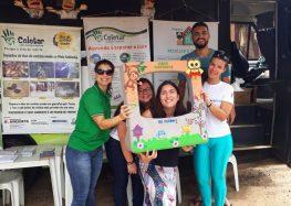 Anchieta realiza ações de educação ambiental nos balneários