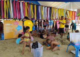 Evento itinerante diverte pais e filhos em Guarapari