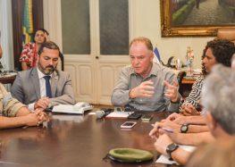 Governo do Estado anuncia medidas para reestruturação de municípios afetados pelas chuvas