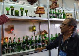 Projeto em Guarapari dá novo destino a garrafas que iriam para o lixo