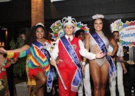 Eleitos Musa, Rei Momo e Rainha do Carnaval 2020 em Guarapari