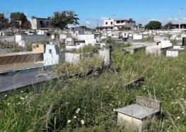 Morador reclama que Cemitério São Tobias em Guarapari está abandonado