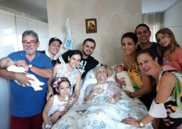 Neto faz homenagem à avó falecida nessa segunda em Guarapari