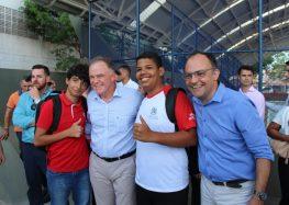 Governo do Estado entrega escola Polivalente em Guarapari