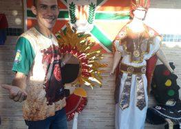 """""""Acadêmicos de JK"""" levará para o desfile em Guarapari a importância da cor vermelha na sociedade"""