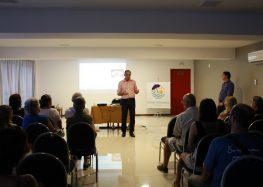 Gedson Merízio apresenta pesquisa sobre demanda turística de Guarapari