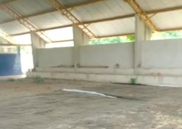 Guarapari: Após sete anos, quadra de escola em Rio Grande ainda está em obras
