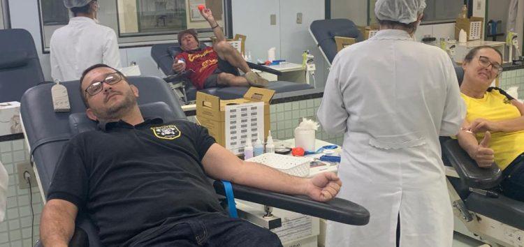 Grupo se mobiliza e doa sangue para motociclista de Guarapari