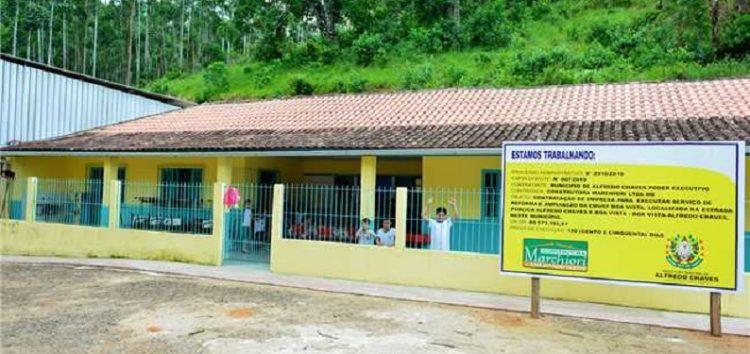 Alfredo Chaves: comunidade de Boa Vista inicia ano letivo com escola reformada