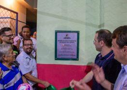 Anchieta: Município entrega quadras em Parati e Nova Anchieta