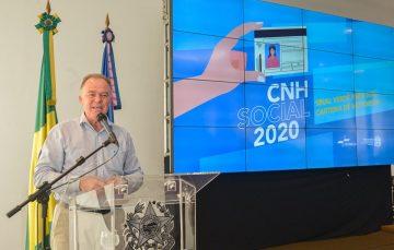Governo do ES abre sete mil vagas no programa CNH Social em 2020