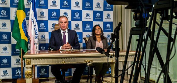 Governador do ES pede união e responsabilidade durante reunião com presidente
