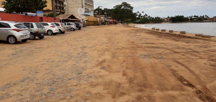 Guarapari: Obra de pavimentação em Meaípe tem previsão de término em 10 dias; Moradores reclamam que ela ainda não começou