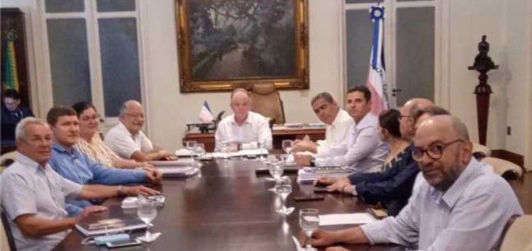 Prefeito de Alfredo Chaves é recebido pelo Governador Casagrande e agradece ajuda na reconstrução do município
