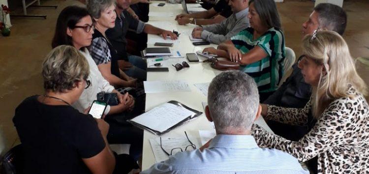 Cerca de 30 membros do Repas se reuniram nesta manhã (05) em Guarapari