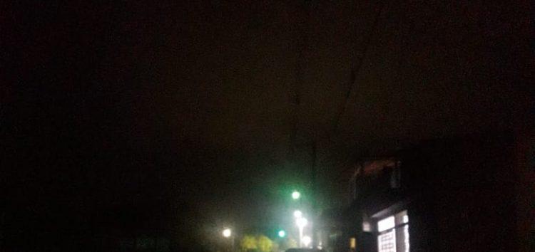 Morador de Guarapari se queixa da falta de luz no bairro Elza Nader
