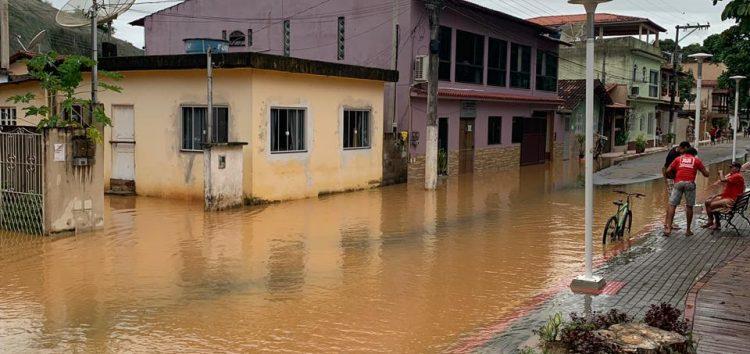 Anchieta recebeu o maior volume de chuvas do ES no último fim de semana