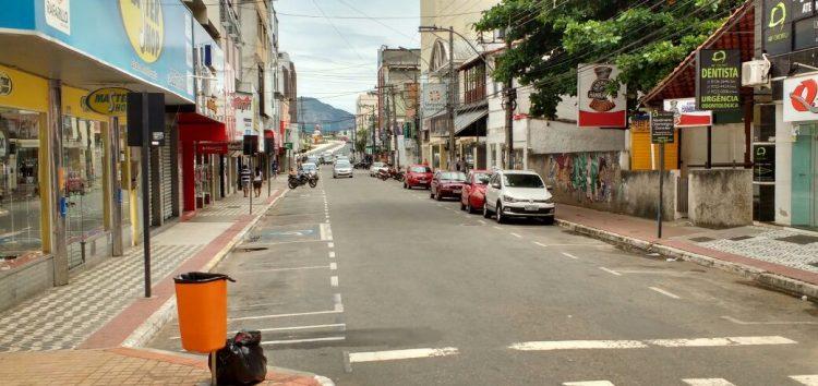 Manifestação pede reabertura dos comércios em Guarapari