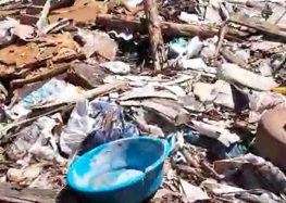 Associação de moradores de Meaípe denuncia lixão clandestino no bairro em Guarapari