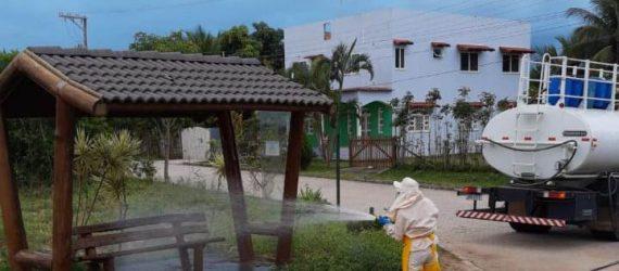 Capacitação e limpeza: Anchieta promove medidas de combate ao Coronavírus