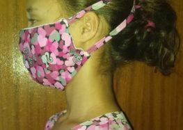 Coletivo cultural que produz máscaras para doações em Guarapari precisa de tecidos
