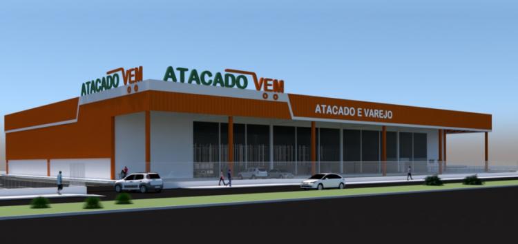 Atacado Vem passa por nova etapa para a construção em Guarapari