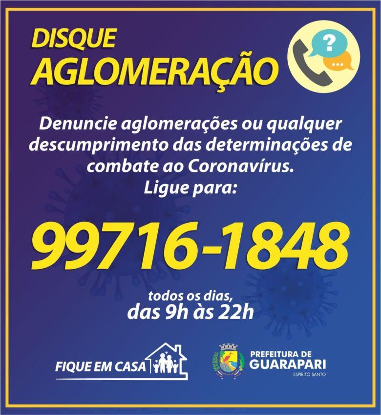 Morador reclama que Disque Aglomeração não funciona em Guarapari