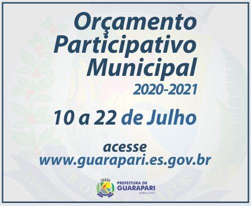 Prefeitura de Guarapari anuncia Orçamento Participativo Municipal