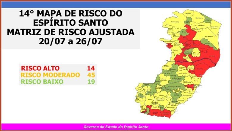Covid-19: Guarapari sai do risco alto, segundo Mapa de Gestão de Risco
