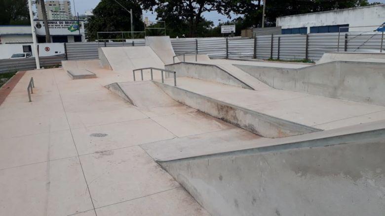 Pista de skate do Canal de Guarapari é remanejada para Muquiçaba