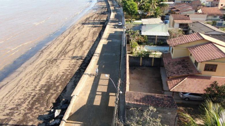 Casagrande inaugura obras em Anchieta e libera reurbanização de orla