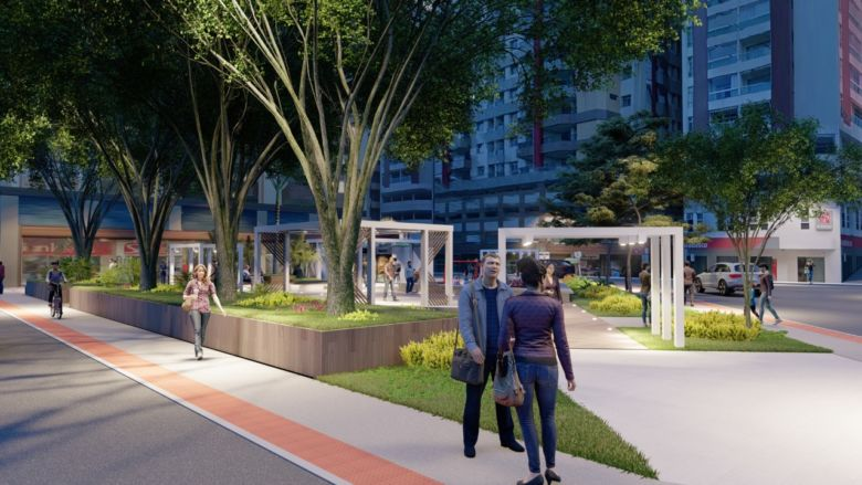 Prefeitura promete manter as árvores na reforma da Praça do Bradesco em Guarapari