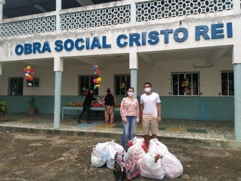 Jovem cria projeto social que ajuda pessoas carentes em Guarapari