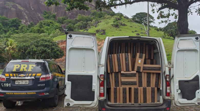 75 mil maços de cigarros são apreendidos em Guarapari
