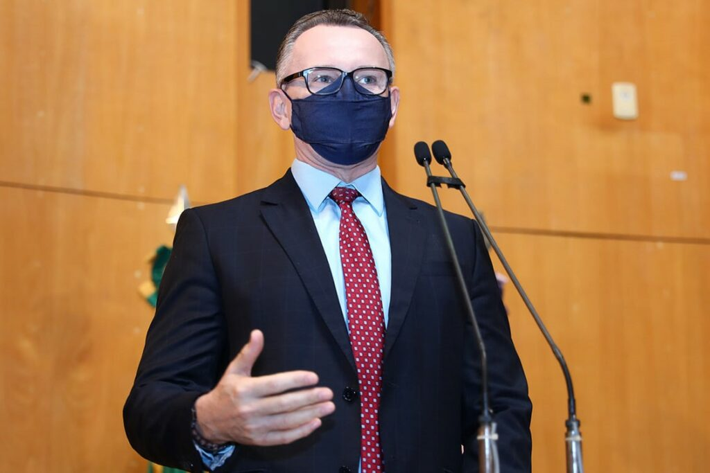Deputado Estadual Sérgio Majeski. Foto: Ellen Campanharo/Ales