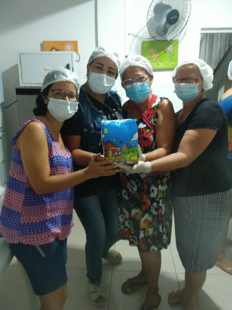 Voluntárias do Projeto MAP Fraldas.