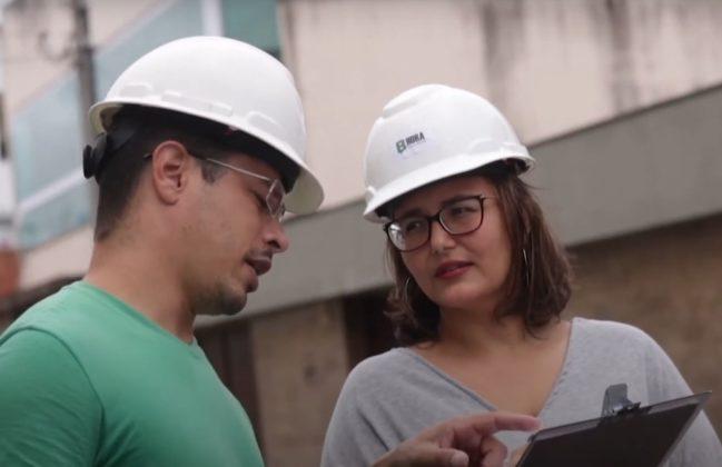 B Hora consultoria - diretor técnico, Fábio Lúcio e diretora administrativa e proprietária, Bárbara Hora