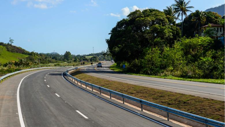 BR 101, trecho entre Guarapari e Viana