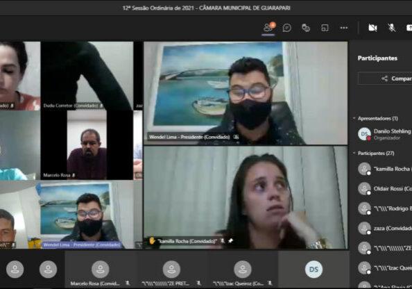 Sessão virutal