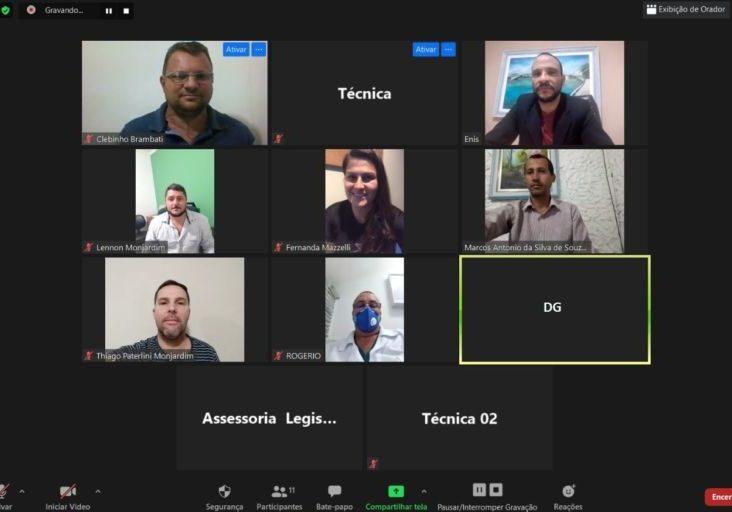 Treinamento para sessão virtual