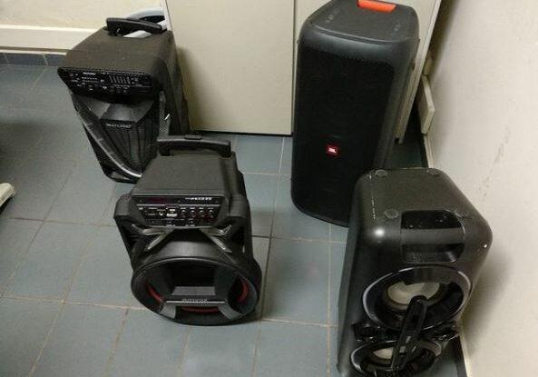 caixas-de-som-apreendidas-guarapari