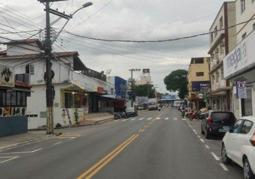comercio fechado Guarapari