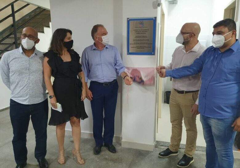 Na ocasião, também foi inaugurado o Centro de Acolhimento e Ação Integral sobre Drogas