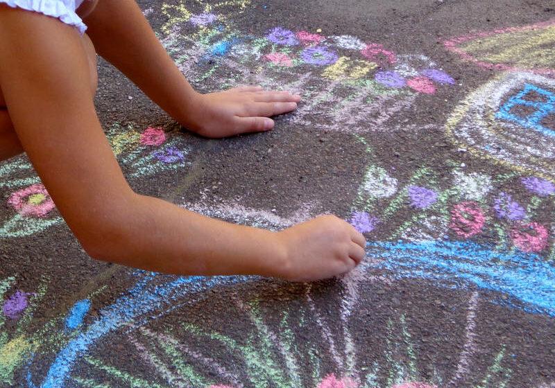 Free picture (Children draw chalk on asphalt) from https://torange.biz/children-draw-chalk-asphalt-32596