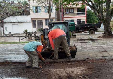 reparos Praça Trajano