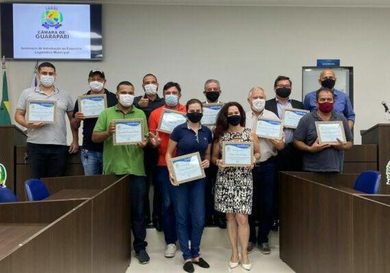 Vereadores participam de seminário na Câmara de Guarapari